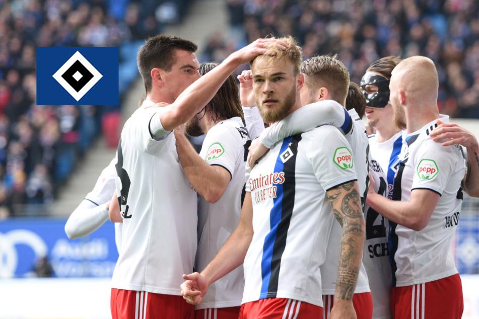 """HSV: Kollektives Aufatmen nach """"dreckigem Sieg"""" über Jahn Regensburg"""