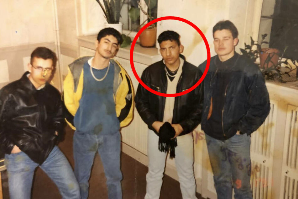 Jugendclique in Berlin-Tempelhof: Attila Hildmann im Alter von 15 Jahren.