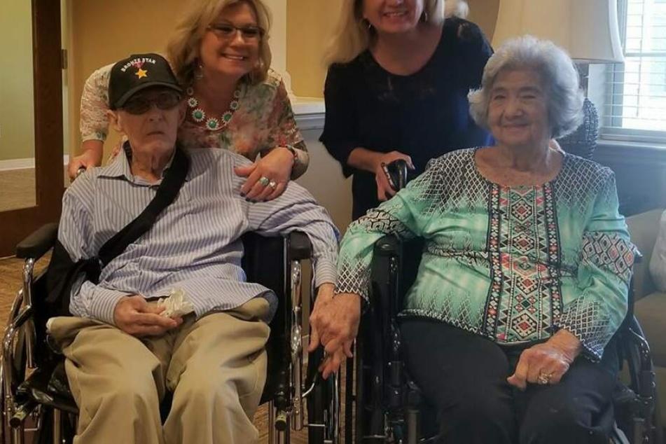 Das Paar war 71 Jahre lang verheiratet. Und auch im hohen Alter noch verliebt wie am ersten Tag.
