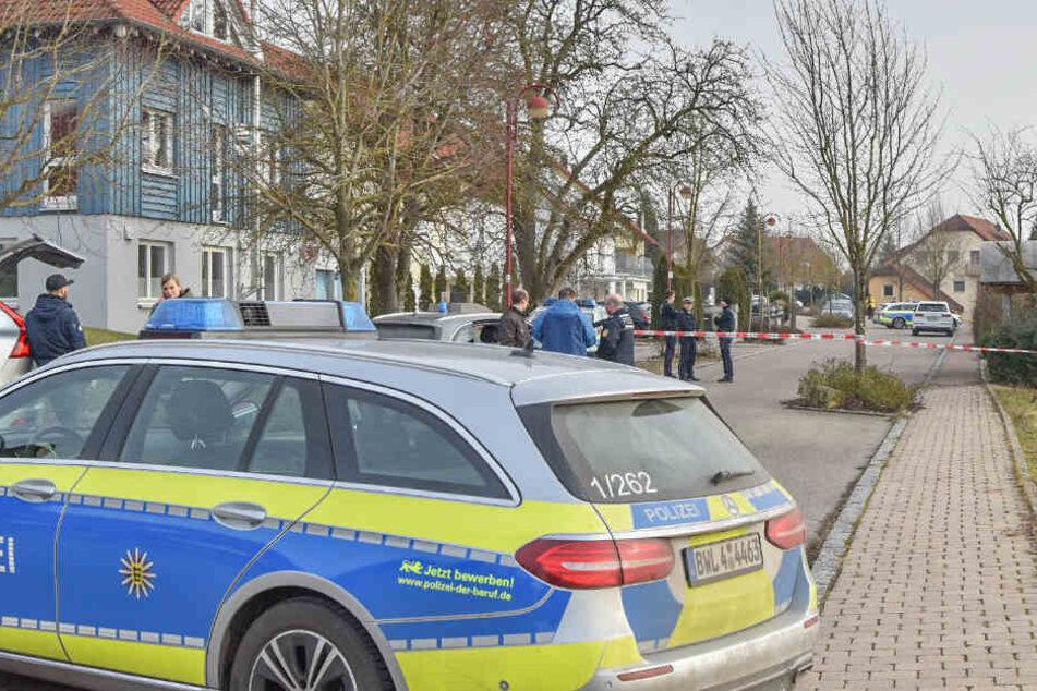 Es soll in Rot am See erneut Schüsse gegeben haben: Polizei ist vor Ort.