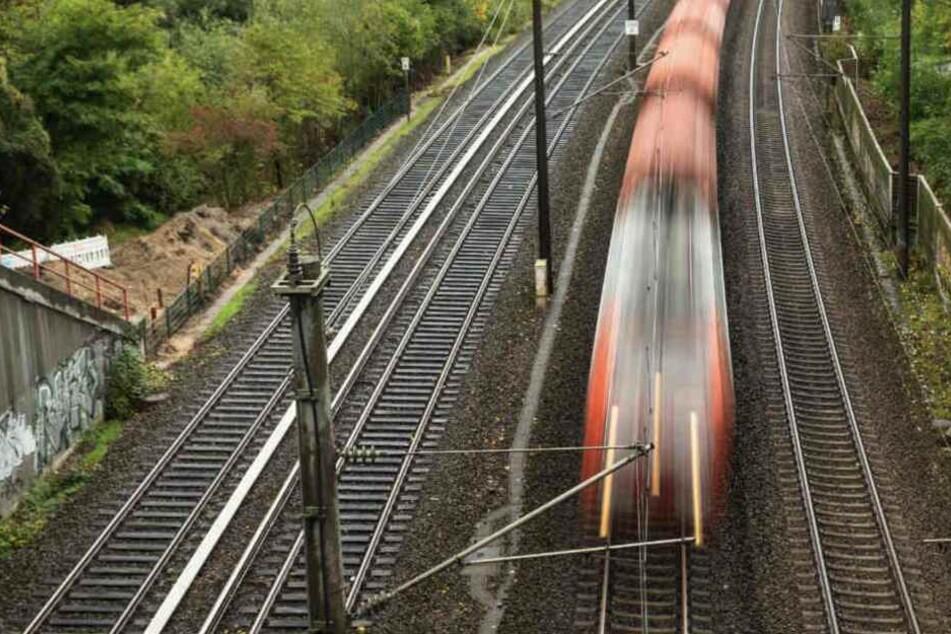 Der Zugführer bremste, konnte den Zusammenprall aber nicht mehr verhindern.