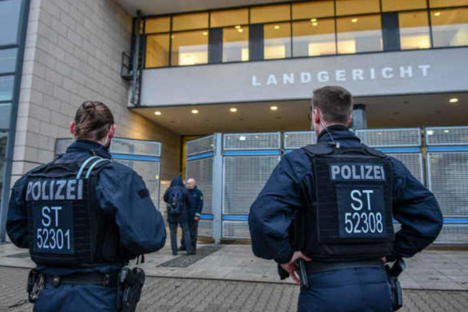Auch am Landgericht Magdeburg hatte es vor kurzem eine Bombendrohung gegeben.
