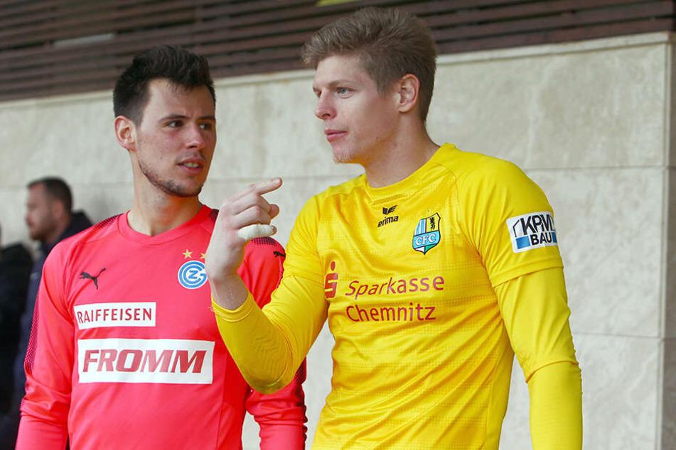 Heinz Lindner (l.) und Jakub Jakubov kennen sich aus Wien, wurden bei der Austria gemeinsam ausgebildet.