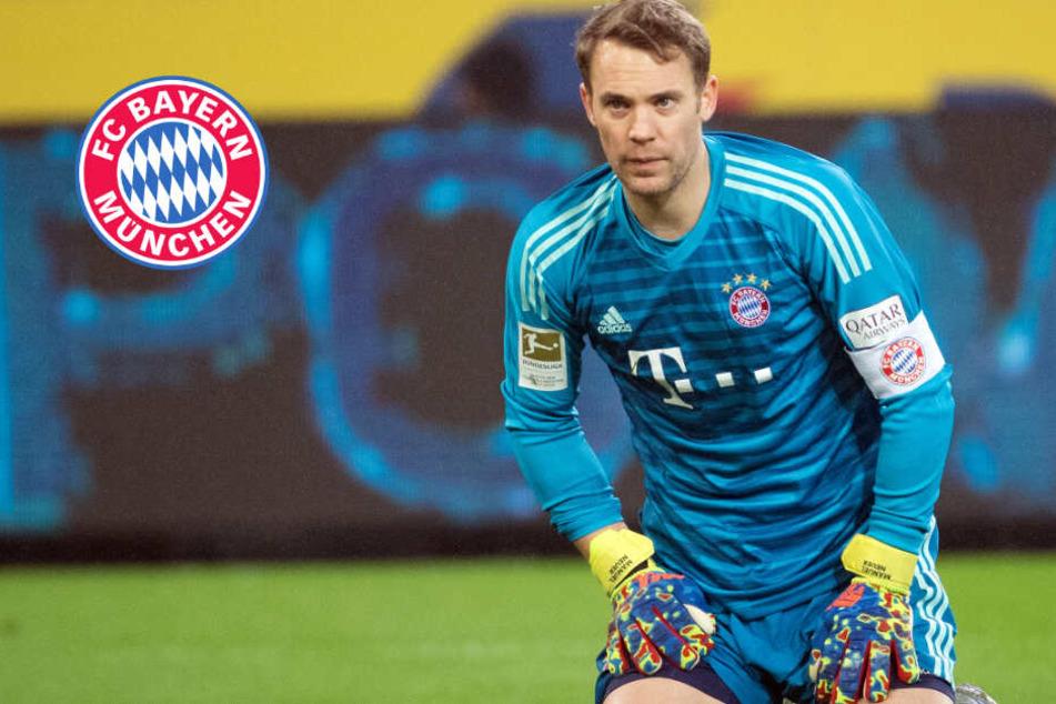 Bayern wohl weiter ohne Neuer: Wird der Keeper bis zum Kracher gegen den BVB fit?