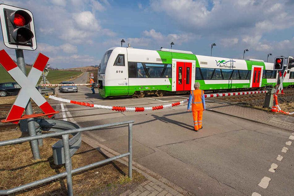 Zu langsame Züge überschreiten die maximale Annäherungszeit von 240 Sekunden.