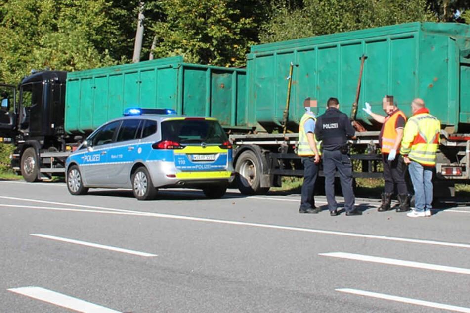 Der Angriff erfolgte auf einem Parkplatz bei der B460 in Südhessen.