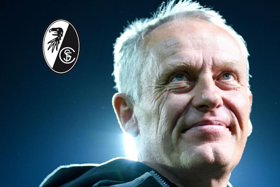 Freiburgs Kulttrainer sieht in Stuttgart einen Konkurrenten im Abstiegskampf, obwohl der SC elf Punkte vor dem VfB liegt.