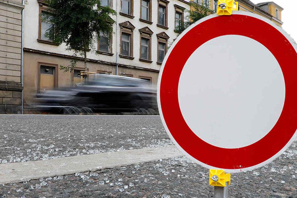 Neue Baustelle: Diese Straße in Chemnitz wird zur Einbahnstraße