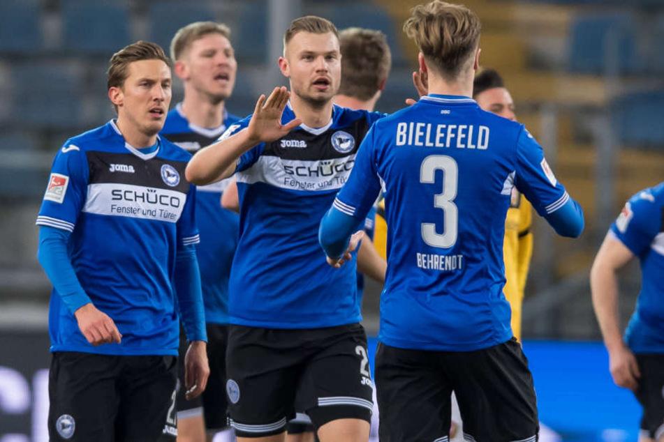 Aktuell feiern die Bielefelder wieder Erfolge in der Zweiten Liga.