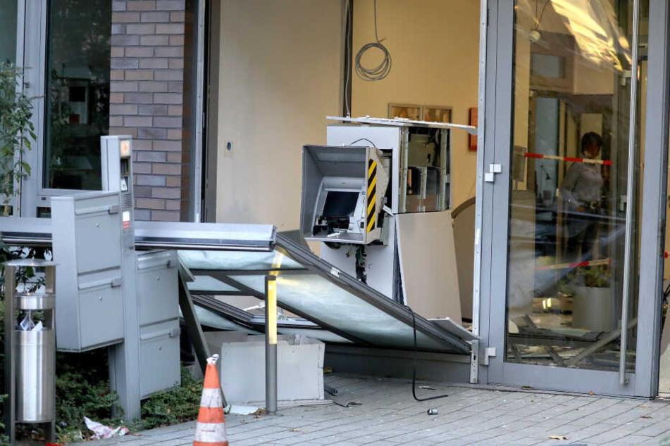 Jede zweite Geldautomaten-Sprengung in NRW bleibt erfolglos