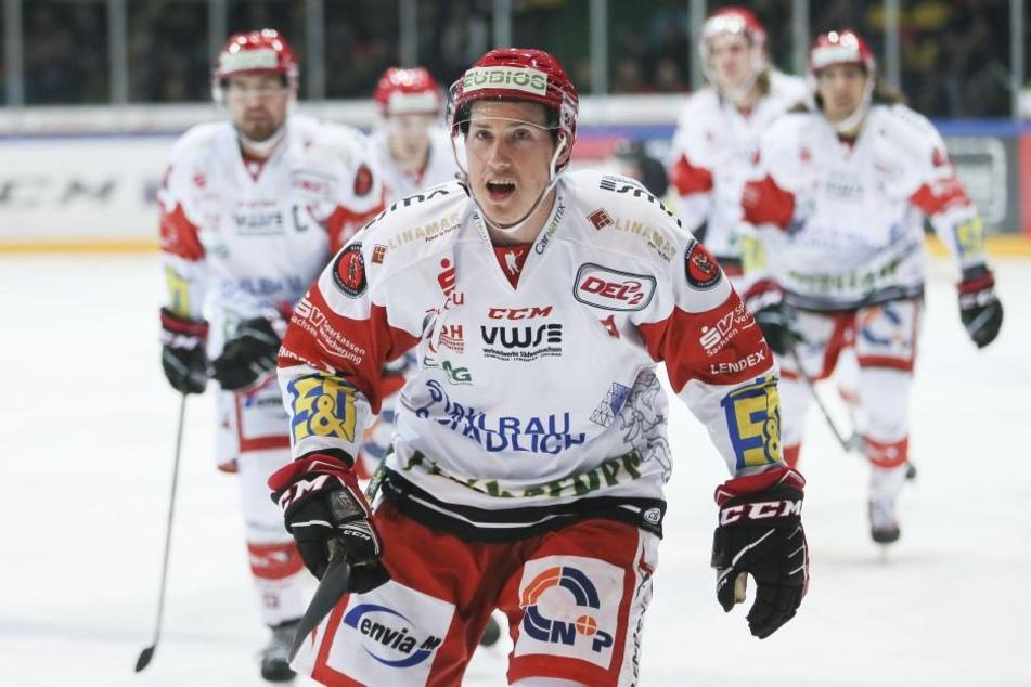 Die Eispiraten helfen: Patch Alber wird jetzt die Abwehr von DEL-Klub Bremerhaven verstärken.