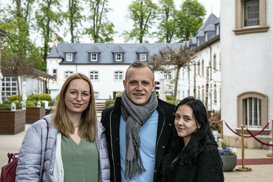 Bens neues Duo: Daniela (27, l.) und Larissa (20).