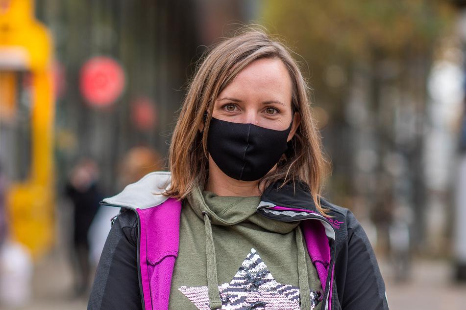 Jessica Günsel findet - da wo viele Menschen sind - eine Maskenpflicht sinnvoll.