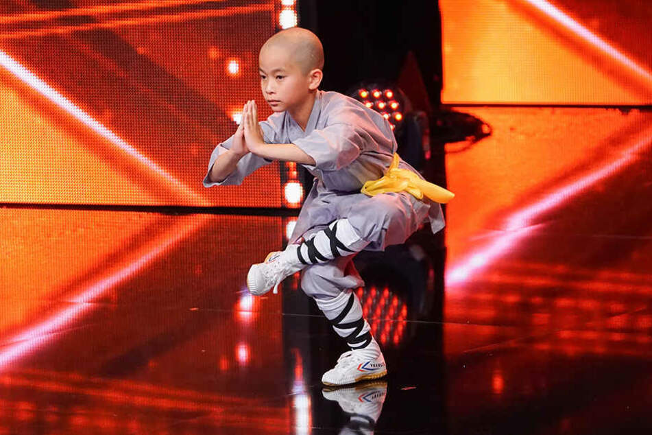 Seit einem Jahr trainiert der Zehnjährige zweimal pro Woche Kung Fu.
