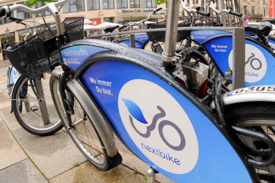 Über die App Nextbike kann man sich unkompliziert Fahrräder leihen.