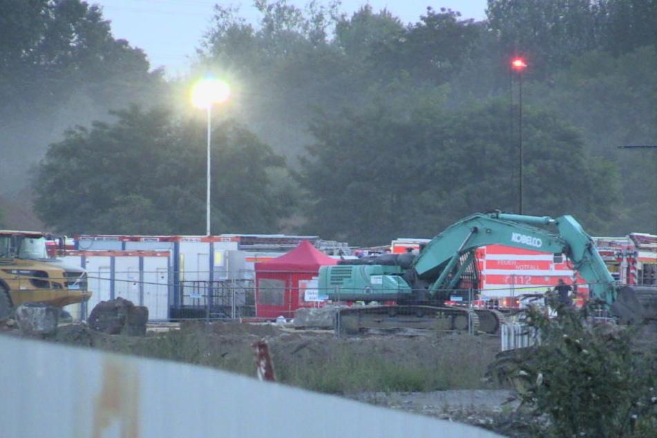 Bei Bauarbeiten passierte der Gas-Unfall.