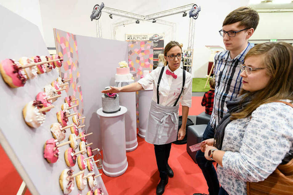 Backkunst vom Feinsten: Konditoreien und Catering-Services präsentieren ihre Kreationen.