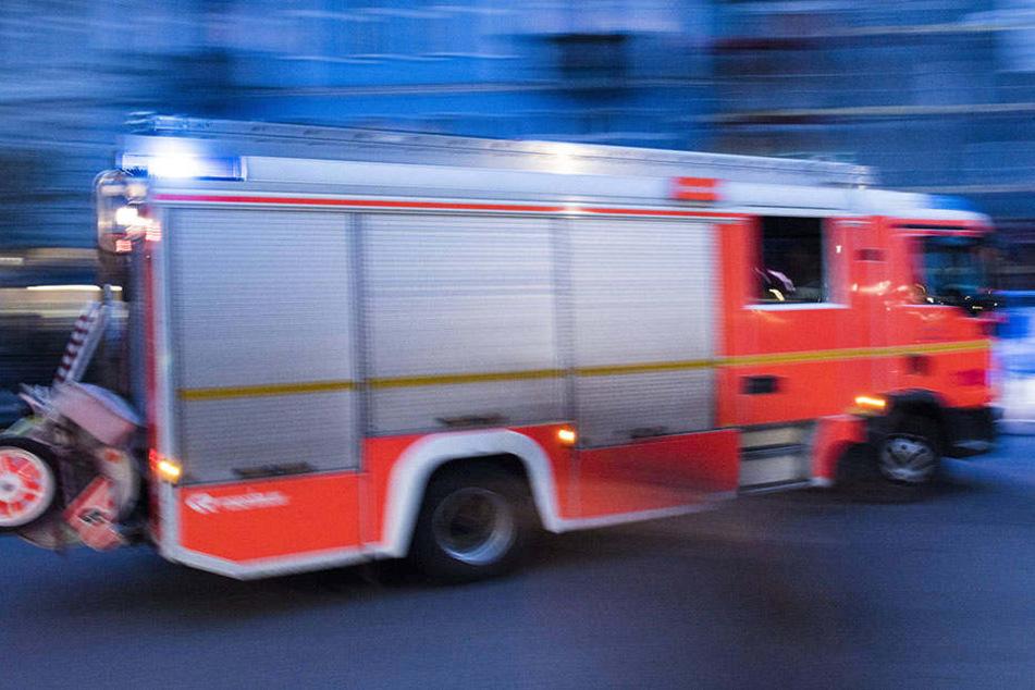 Großeinsatz der Leipziger Feuerwehr.