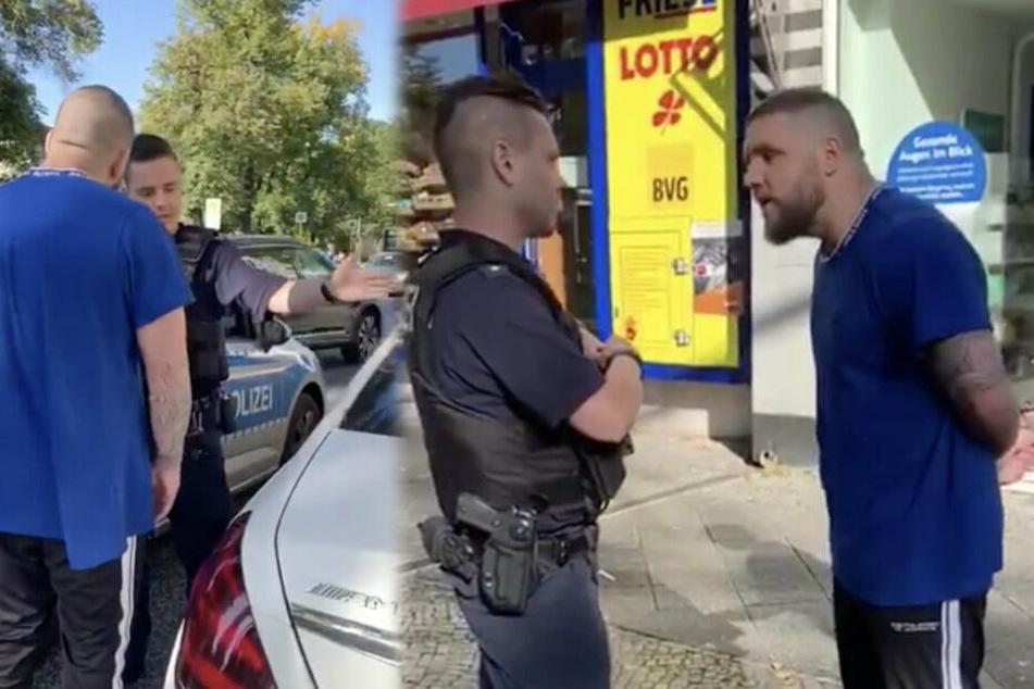 Peinlich-Posse um Fler: Rüpel-Rapper wieder ohne Lappen unterwegs
