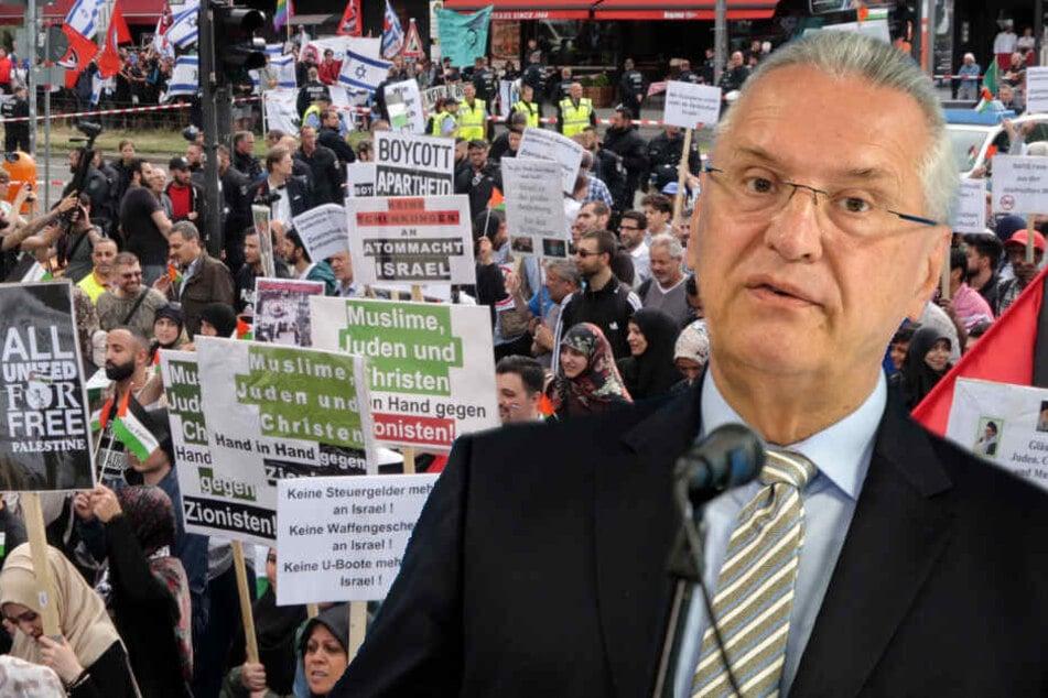 """Berlin: """"Es ist abscheulich!"""": Bayerns Innenminister Herrmann schießt gegen Al-Kuds-Marsch!"""