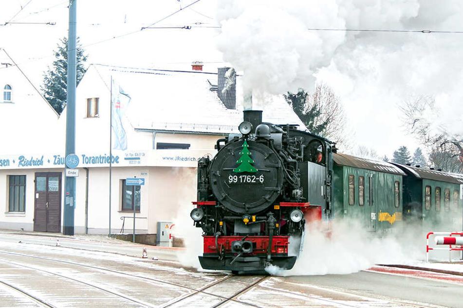 """""""Eisenbahnräuber"""" im Lößnitzdackel ertappt"""