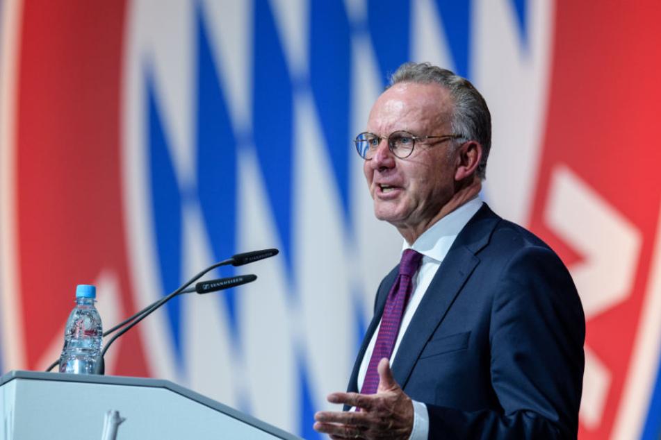 Karl-Heinz Rummenigge ist seit 16 Jahren im Amt.