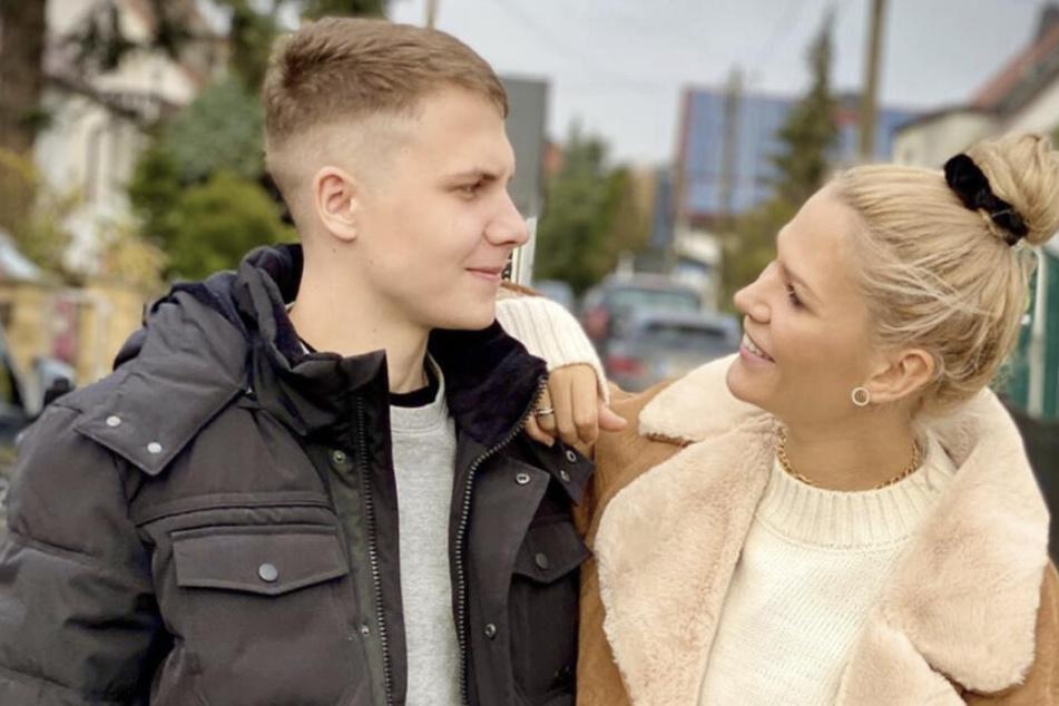Versteht sich bestens mit ihrem Bruder: Model und Fernsehdarstellerin Sara Kulka (29)