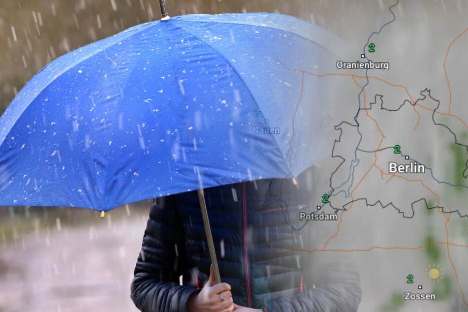 Wetter-Vorhersage: Berlin und Brandenburg rutschen in das Schmuddel-Wochenende