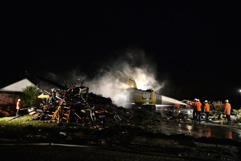 In Niedersachsen ist es zu einer Wohnhausexplosion gekommen.