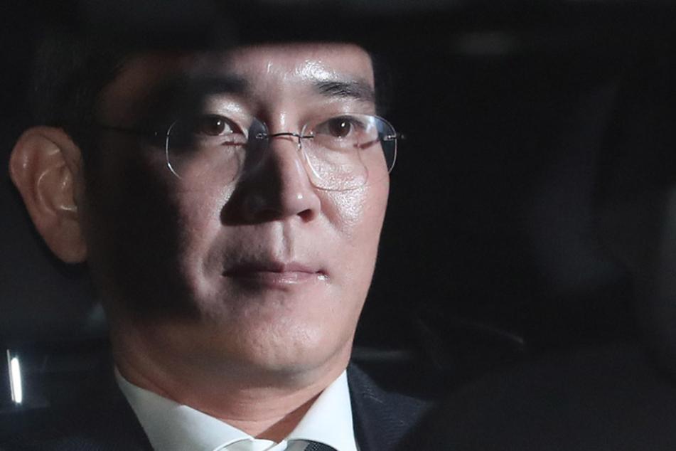 Lee Jae Yong ist am Freitag verhaftet worden. Ihm wird Korruption vorgeworfen.
