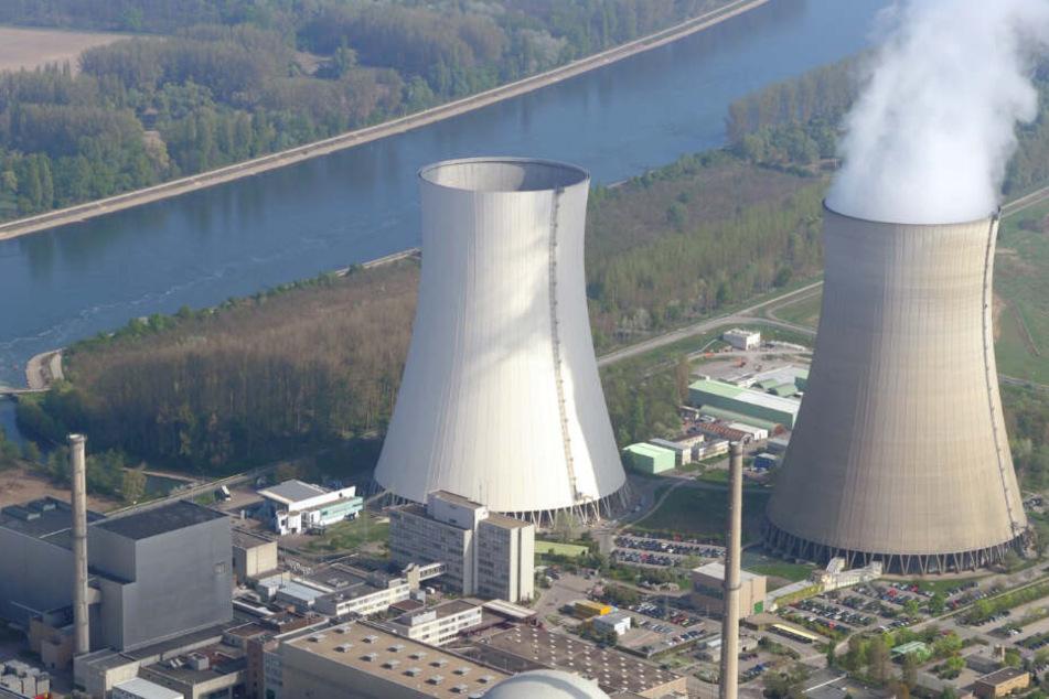 Das Atomkraftwerk in Philippsburg bei Karlsruhe.