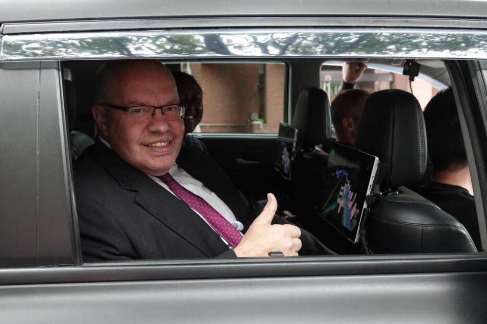 Wirtschaftsminister Peter Altmaier (CDU) in den USA.