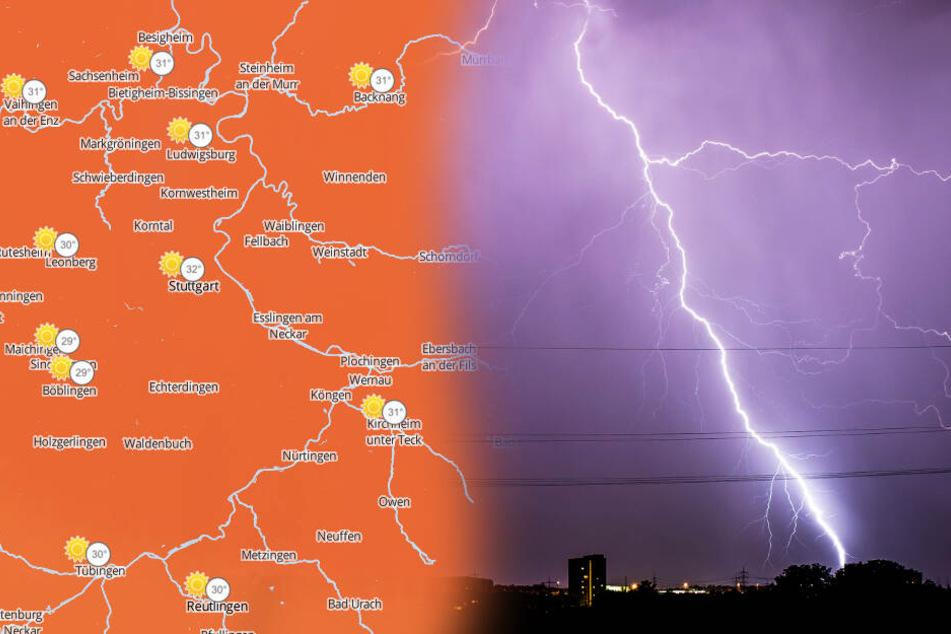 Gewitter, Sturm und über 30 Grad: Das kommt jetzt auf uns zu!