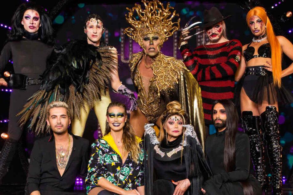 """Das Thema """"Grusel & Horror"""" stand bei der Halbfinal-Show im Mittelpunkt."""