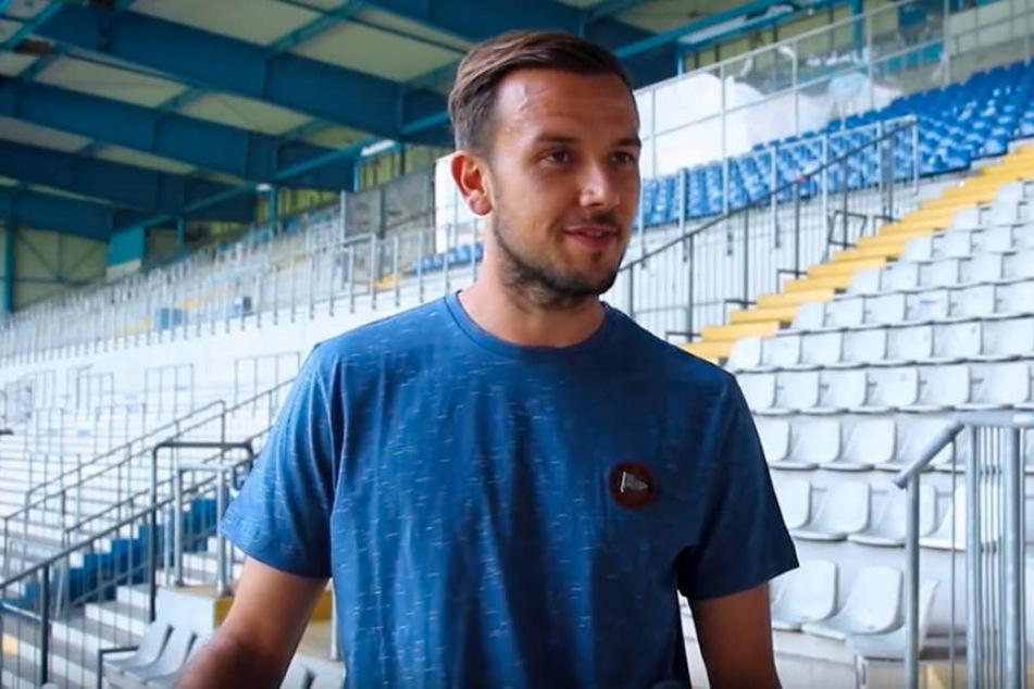 Manuel Prietl liebt es jeden Tag Fussball zu spielen