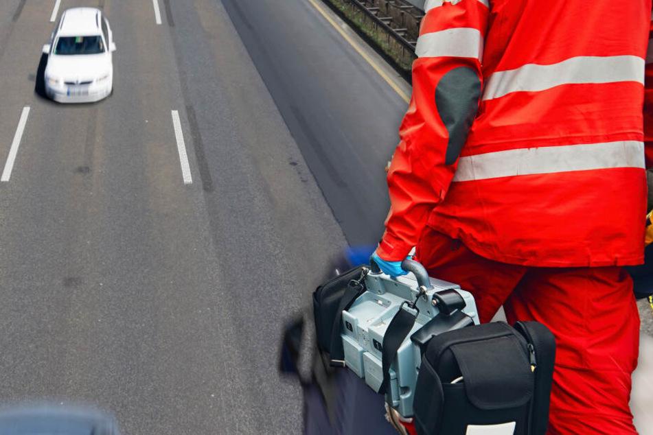Betrunkener Geisterfahrer sorgt für Unfall auf der A45: Frau verletzt