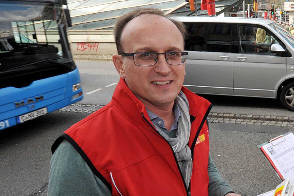 Politiker Jörg Vieweg (46, SPD)  befürchtet Willkür.