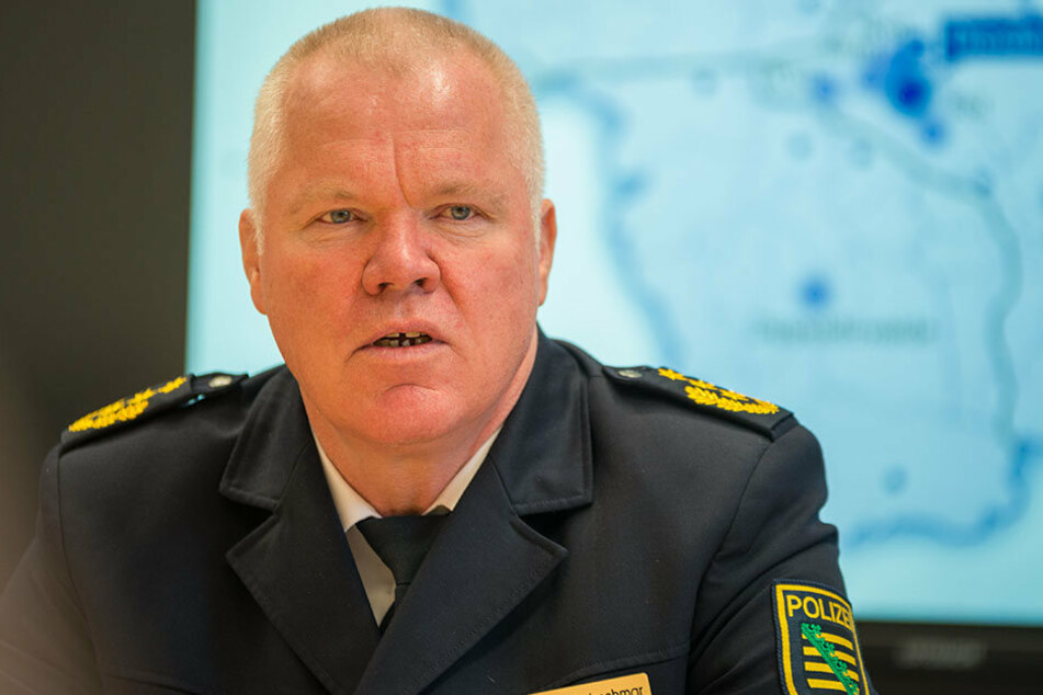 Polizeipräsident Horst Kretzschmar führte mit dem niedersächsischen Polizisten ein klärendes Gespräch.
