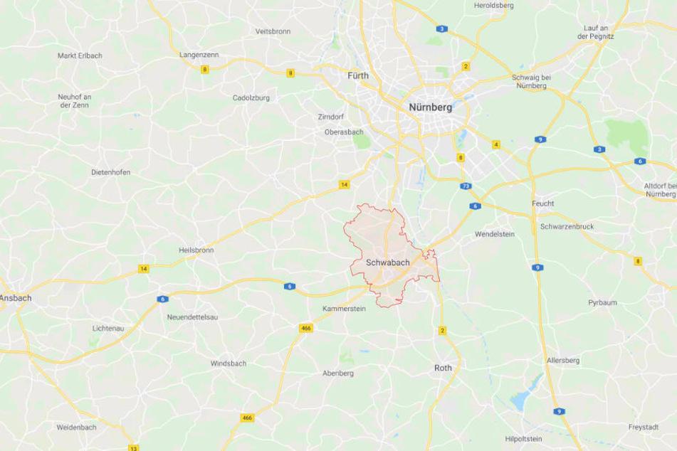Der Vorfall ereignete sich in Schwabach.