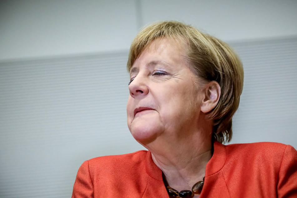 Merkel würde es nochmal als Spitzenkandidatin versuchen.