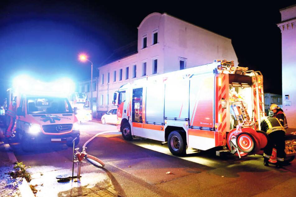 War es ein Anschlag? Feuer bei Leipziger Gerichtsvollziehern