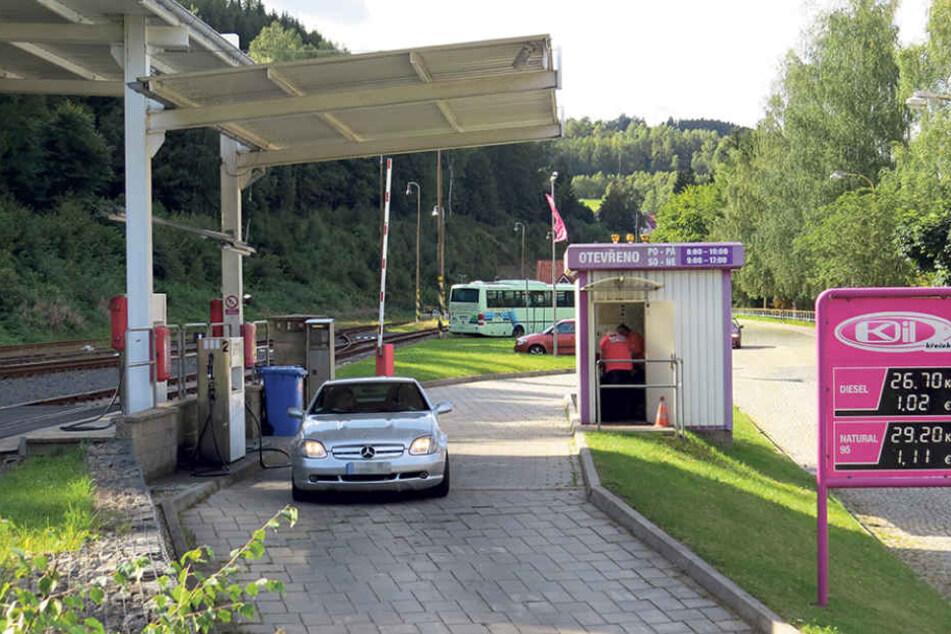 Bei K-Oil in Kraslice wurde 2016 gepanschter Diesel festgestellt.