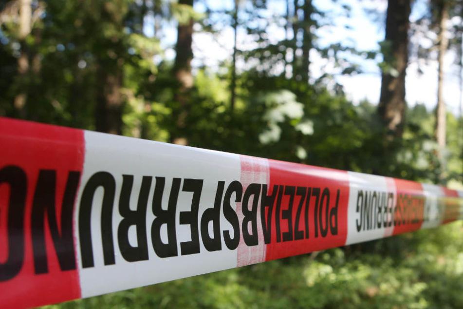 Zwei Frauen fanden den gefesselten Mann am Rande eines Waldfriedhofes. (Symbolbild)