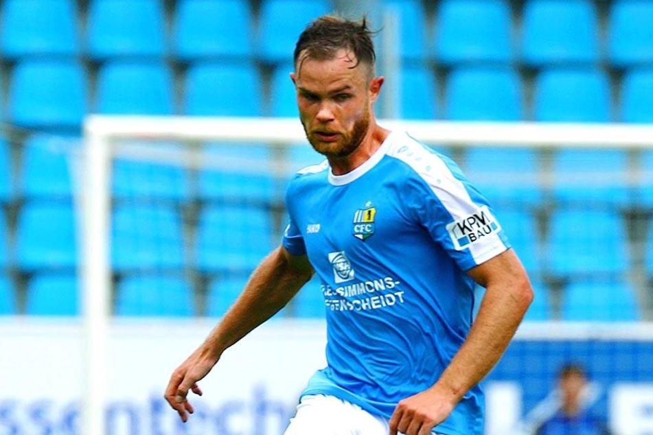 Tobias Müller ist zuversichtlich, dass er heute mit dem Chemnitzer FC bei seinem Ex-Verein Viktoria punkten kann.