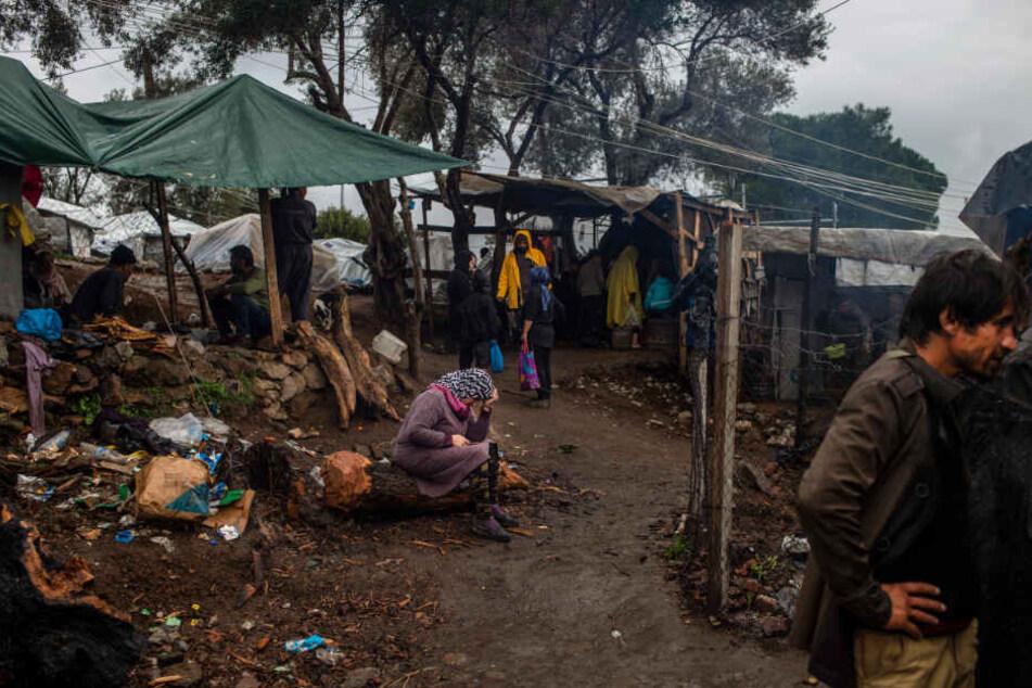 In den griechischen Flüchtlingslagern herrschen katastrophale Zustände.