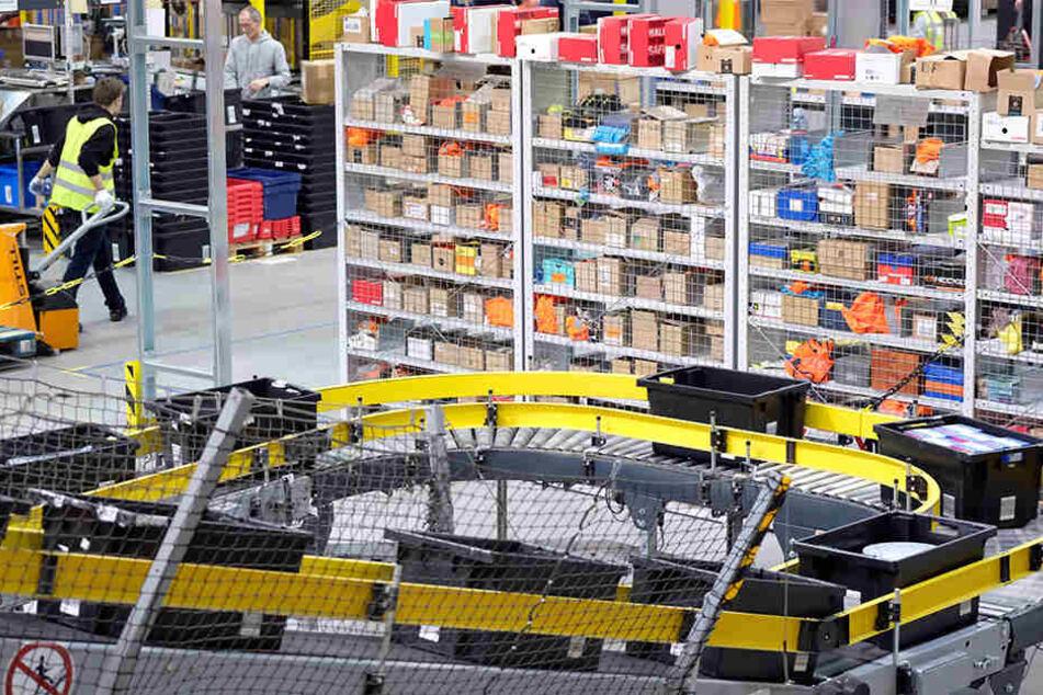 Ver.di fordert die Leipziger Amazon-Mitarbeiter am Mittwoch zum Streik auf.