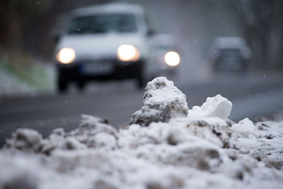 Mancherorts muss man mit Schneematsch rechnen.