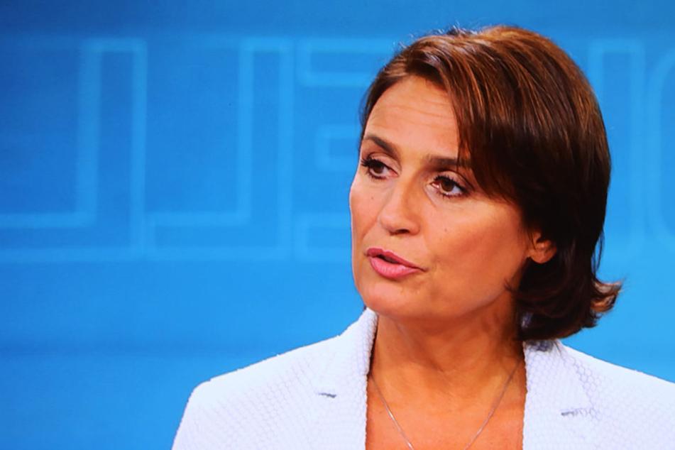 Journalistin, Moderatorin, Produzentin und Autorin: Sandra Maischberger (51).