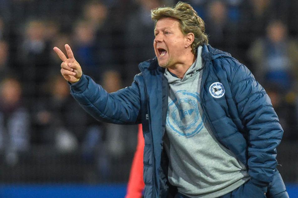 DSC-Trainer Jeff Saibene (49) wird aller Voraussicht keine großen Umstellungen gegen MSV Duisburg vornehmen.