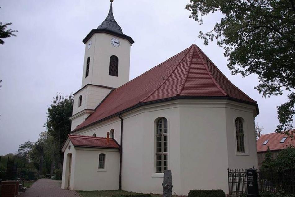 Die Kirche von Wustermark.